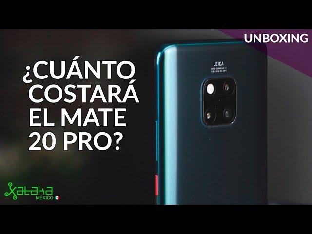 Huawei Mate 20 Pro, UNBOXING en México: así se carga un iPhone con el buque insignia de Huawei