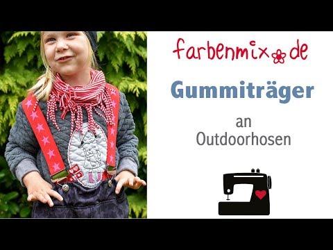 Videoanleitung: Gummibandträger an Outdoorhosen