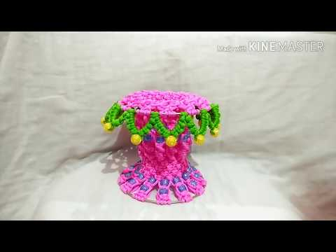 Macrame Tree  Flower Pot..... Unique Design