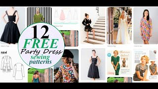 12 AMAZING And FREE Sewing Patterns For A PERFECT PARTY Outfit! 2019