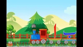 Urdu Alphabet Train