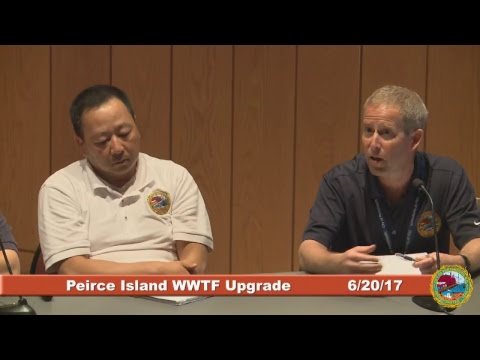 Peirce Island Wastewater Treatment Facility Upgrade 6.20.2017
