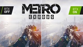 Metro Exodus With RTX & DLSS - A Gamer