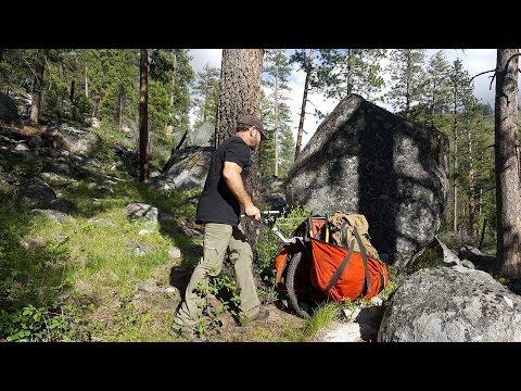 Honey Badger Wheel | Hiking Cart | Hunting Cart | Fishing Cart | Hiking Stroller
