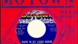 Supremes - BACK IN MY ARMS AGAIN  (1965)