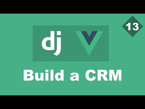 Stripe 1 - Building a Simple CRM Using Django And Vue - Part 13 | Django Rest framework thumbnail