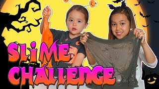 Не выбери ШАМПУНЬ Хэллоуин СЛАЙМ челлендж! Don't Choose the wrong SHAMPOO SLIME CHALLENGE