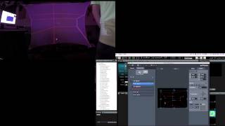 ArKaos Grand VJXT Video Tutorial - 6. ArKaos Tutorial - Mapping on to odd-shaped spandex screen