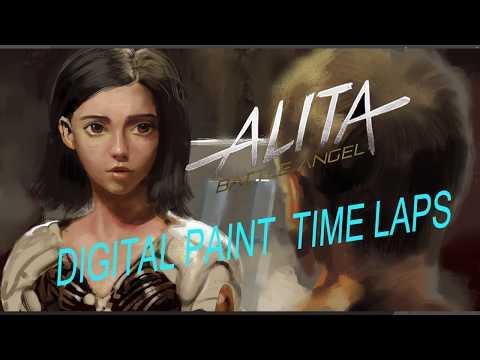 Battle Angel ALITA SpeedPaint