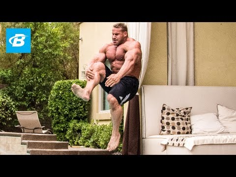 Day In the Life of Jay Cutler, 4x Mr. Olympia Bodybuilder | Living Large