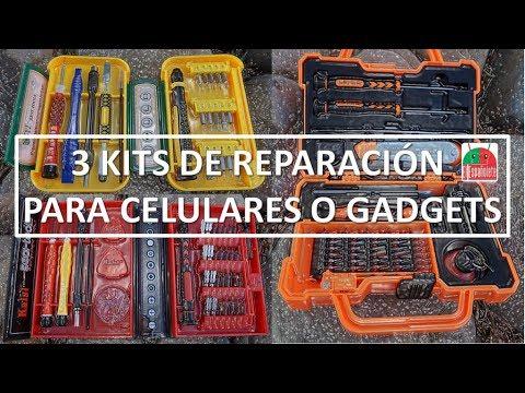 3 KITS de Reparación de Celulares + Reto al FINAL !!!!