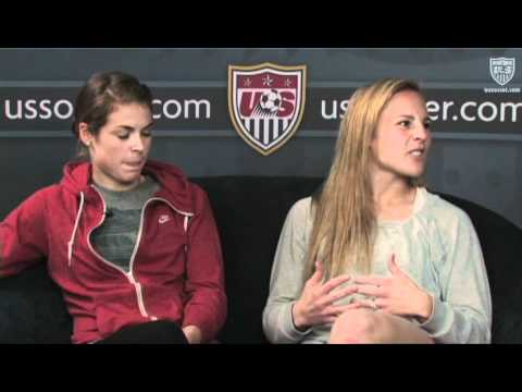 Studio 90 Extra Time: Kelley O'Hara and Amy Rodriguez