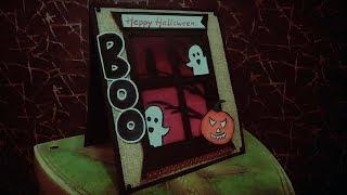 Diy Halloween Card \how To Make Halloween Cards\handmade Halloween Cards
