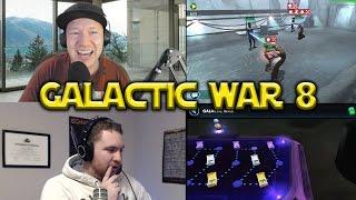 Star Wars: Galaxy Of Heroes - Galactic War #8 Dark Side VS Light Side