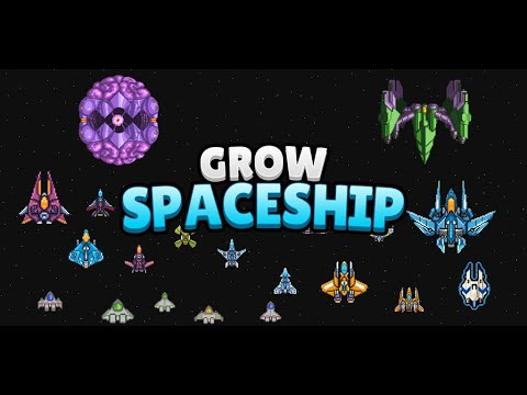 Grow Spaceship VIP - Galaxy Battle wideo