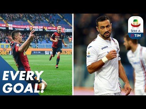 Piatek bags a brace, Quagliarella scores 7th in a row | EVERY Goal R17 | Serie A