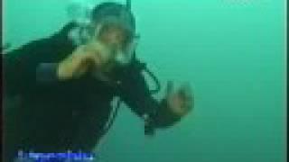 Immersione sul relitto del cacciatorpediniere Quintino Sella – 1999