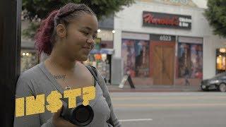 BHAD BHABIE Feat. Kodak Black   Bestie: STREET REACTIONS In Hollywood