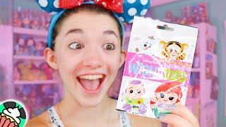 Wishables Mystery Pin Pack Unboxing & Review! Disney Parks Pin Trading Blind Bag! //Disneycupcake