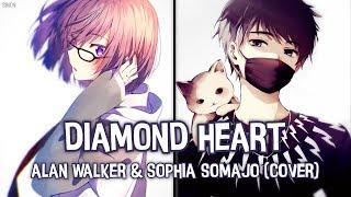 Nightcore   Diamond Heart (Switching Vocals)   (Lyrics)