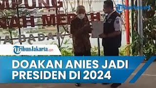 Bangga Dapat IMB Sementara, Radiman Doakan Anies Baswedan Jadi Presiden di 2024