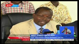 Leaders from West Pokot criticize DP Ruto's remarks of shoot to kill