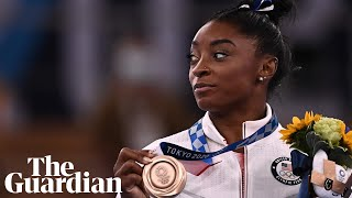 Simone Biles on the importance of mental health: 'Not just entertainment, we're humans'