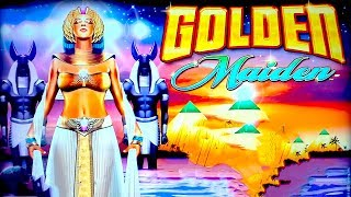 Golden Maiden Slot - $6 Max Bet - NICE SESSION!