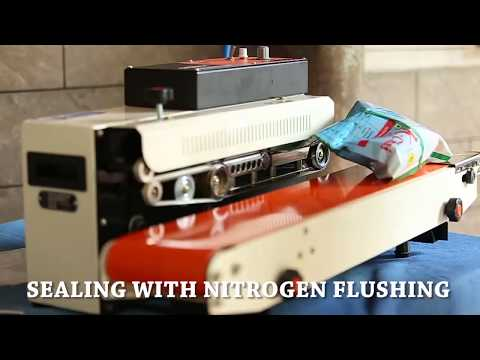 Continuous Sealer with Gas Flushing