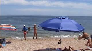 Бердянск 2018 Пляж на средней косе