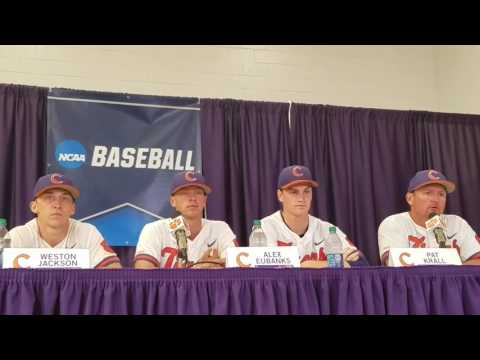 TigerNet.com - 2017 Clemson Regional postgame - Clemson on win over UNCG