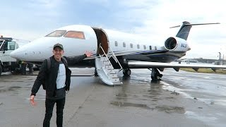 MY FIRST PRIVATE JET!!
