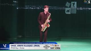 Ismael ARROYO BLAZQUEZ plays  Épodo by J. Torres #adolphesax
