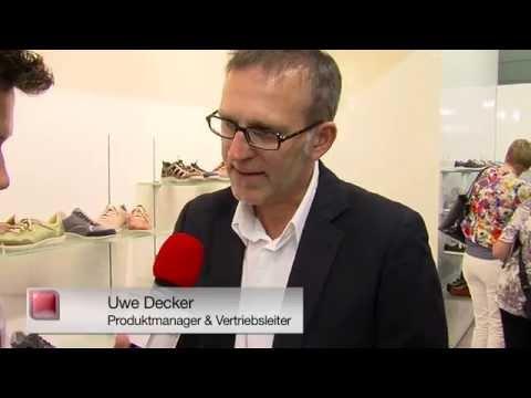 schuhplus Schuhe in Übergrößen GDS 2014 Düsseldorf Interview Uwe Decker von Josef Seibel