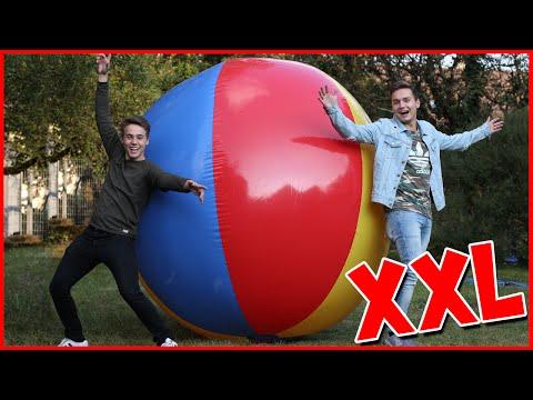 Wir blasen den GRÖßTEN WASSERBALL DER WELT auf! Max und Chris