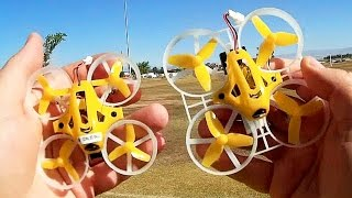 Kingkong Tiny6 and Tiny7 Micro FPV Drones Flight Test Comparison Review