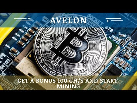 Avelon.cc отзывы 2019, обзор, Mining Cryptocurrency, Free bonus 100 Ghs and start mining