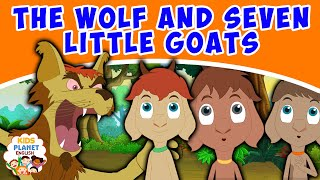 The Wolf And Seven Little Goats - Fairy Tales In English | Bedtime Stories | English Cartoons