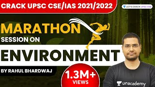 Marathon Session on Environment of Shankar IAS | Crack UPSC CSE/IAS 2021/2022 | Rahul Bhardwaj - Download this Video in MP3, M4A, WEBM, MP4, 3GP