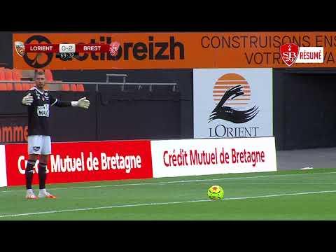 Le résumé de la rencontre Lorient - Brest (2-2)