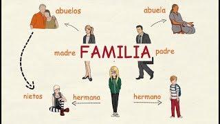 Aprender español: La familia 👪 (nivel intermedio)