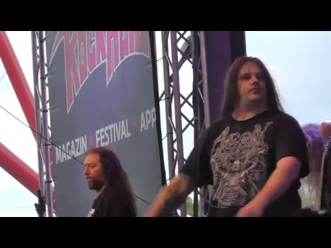 Download CANNIBAL CORPSE - Hammer Smashed Face -  Rock Hard Festival 2016 HD Mp4 3GP Video and MP3