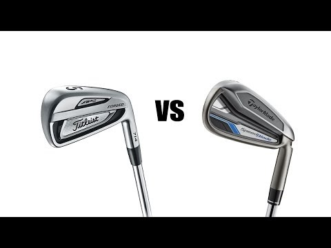 Titleist 714 AP2 Vs Taylormade Speedblade Irons Comparison and Review