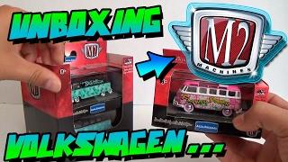UNBOXING - M2 MACHINES - VOLKSWAGEN AUTO THENTICS 2017