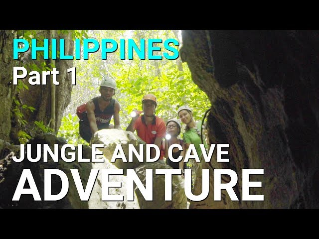 Jungle and Cave Adventure Tour - Philippines, Cebu - Part 1