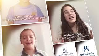 Coro integrado por alumnos de todas las instituciones educativas adventistas de Argentina