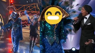 The Masked Singer - The Peacock Performances and Reveal 🐦