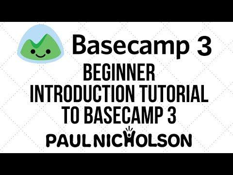 Basecamp 3 project management - Beginner Introduction Tutorial ...