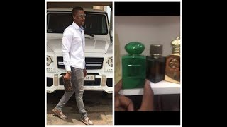 Ibrah replies Heloo. My perfumes alone can buy a Ferrari !!!!!!