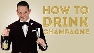 How To Chill, Open, Pour & Drink Champagne - A Quick Guide For New Years - Gentlemans Gazette